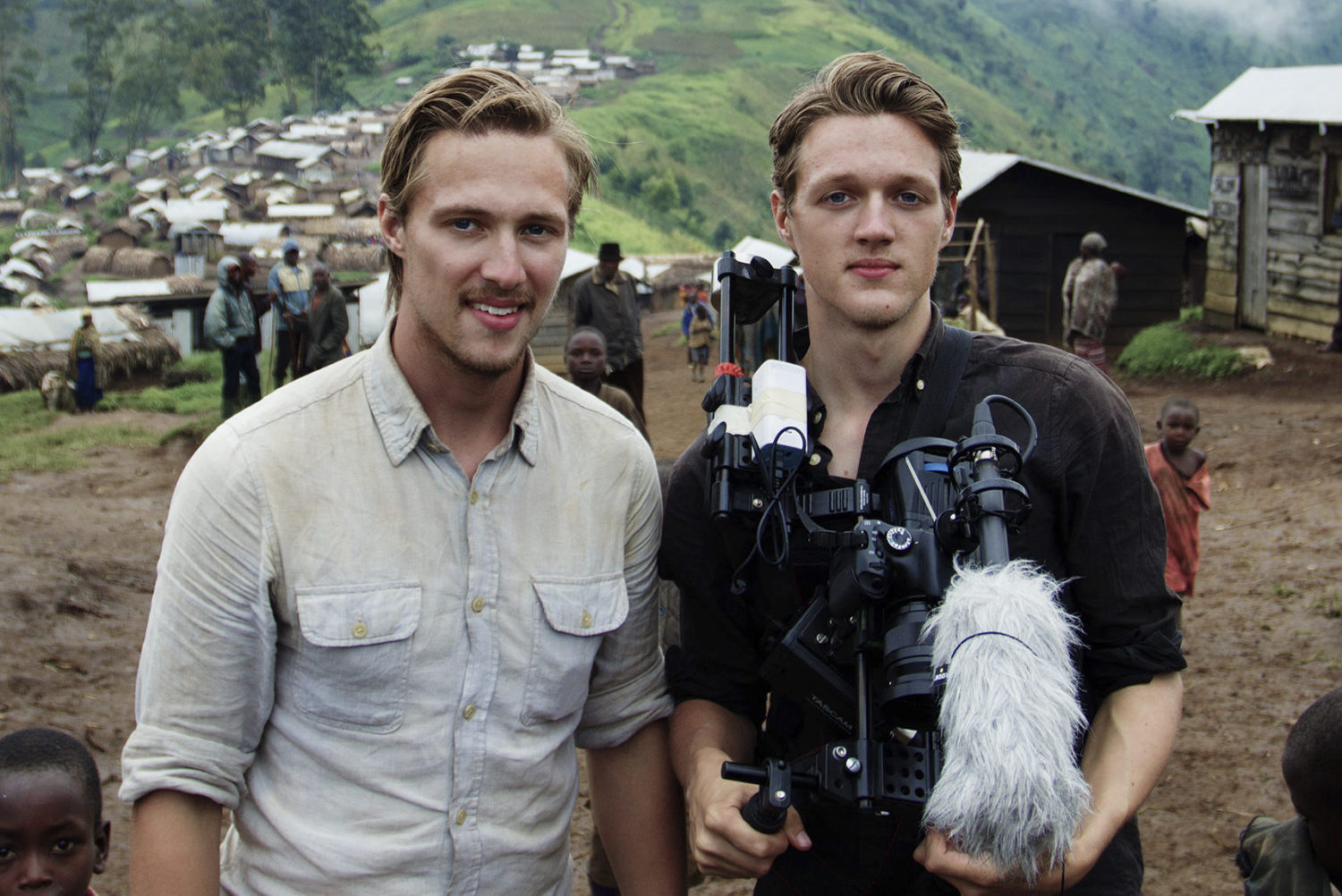 Dennis and Patrick Weinert in the DR Congo, 2016.